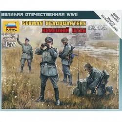 Zvezda 1/72 German HQ WWII