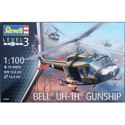 Revell 1/100 Bell UH-1H Gunship