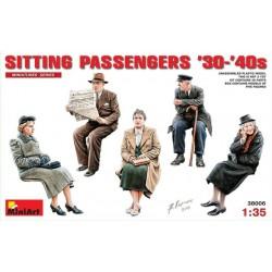 Miniart 1/35 Sitting Passengers