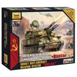 Zvezda 1/100 Shilka AAA Tank