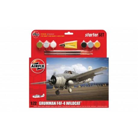 Airfix 1/72 Starter Set Grumman Wildcat F4F-4