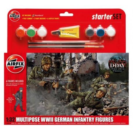 Airfix 1/32 WWII British Infantry Mulipose Gift Set