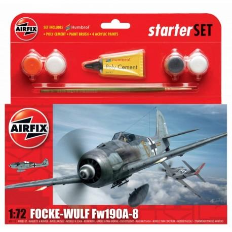 Airfix 1/72 Focke Wulf 190A-8 Starter Set