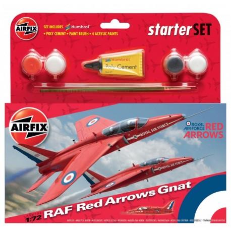 Airfix 1/72 Red Arrow Gnat