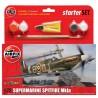 Airfix 1/72 Starter Set Spitfire Mk1a (new tool)