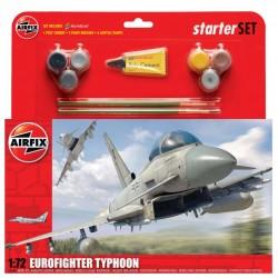 Airfix 1/72 Eurofighter Typhoon - Large Starter Set